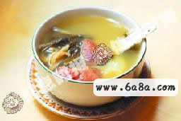 沙参玉竹菜干煲猪肺汤的做法