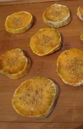 蜂蜜地瓜脯的做法