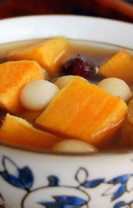 地瓜姜汤的做法