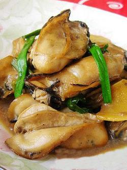 鲜炒生蚝的做法