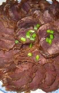 高压锅酱牛肉的做法