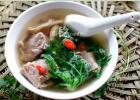 荠菜排骨汤的做法