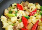 干煸菜花五花肉的做法