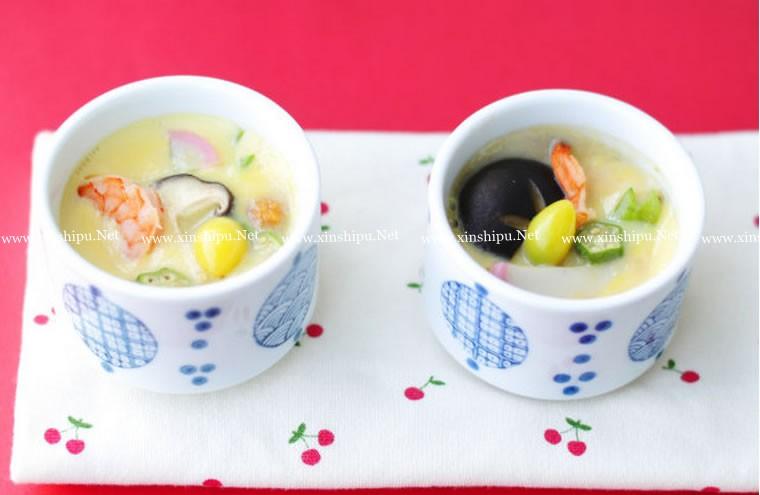 茶碗蒸蛋的做法
