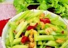 海米炝芹菜的做法