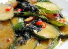 紫苏煎黄瓜的做法