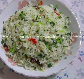 腊肉青菜炒饭的做法(营养价值)_腊肉青菜炒饭
