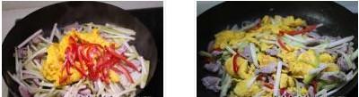 鸡蛋韭黄炒瘦肉的做法图