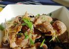 蒜头豆豉焖鸡胗的做法