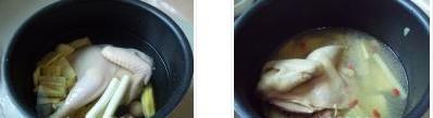 鲜笋土鸡汤的做法图