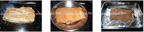 广式脆皮烧肉的做法图