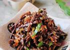 韩式拌蕨菜的做法