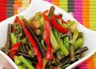 蕨菜炒肉丝的做法