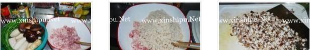 莲藕香菇猪肉饺子的做法图