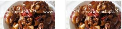 蒜香红烧牛蹄的做法图