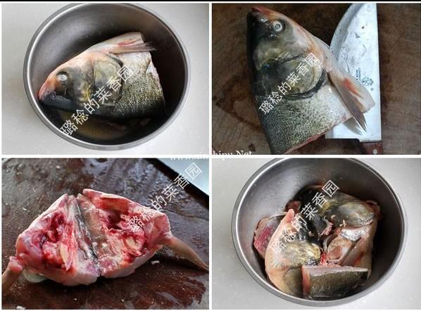 酱焗鱼头的做法图