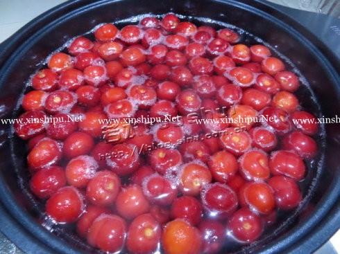 自制樱桃罐头的做法图