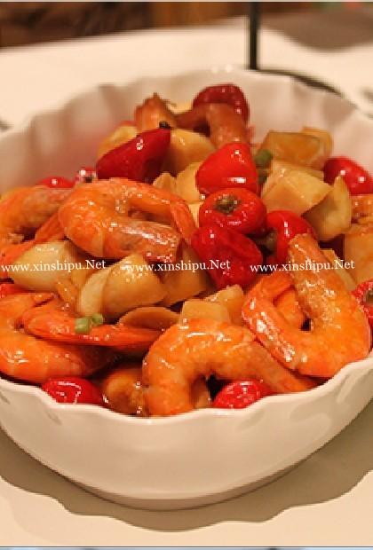 泡椒虾的做法