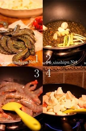 泡椒虾的做法图