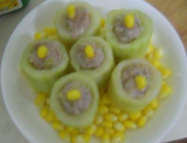黄瓜襄肉的做法图