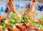 清蒸粉丝开边虾的做法