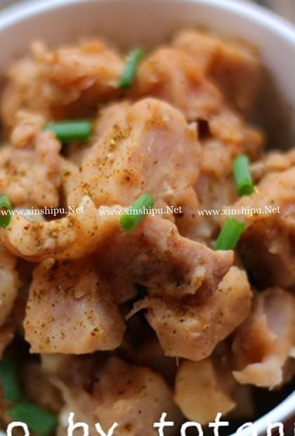 孜然香芋焖猪肉的做法