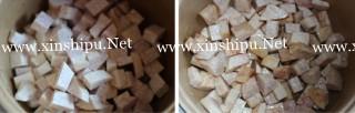 孜然香芋焖猪肉的做法图