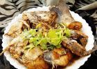 考生补脑菜 焖鲈鱼