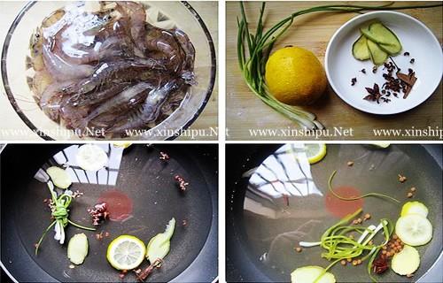第2步盐水虾的做法图片