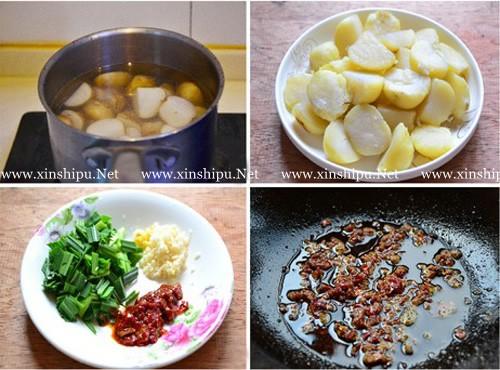 第2步红烧小土豆的做法图片
