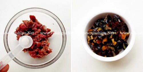 第3步皮蛋瘦肉粥的做法图片