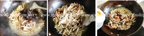 第5步开胃消暑的酸辣蘑菇汤的做法图片