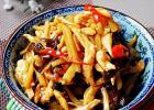 川菜中的经典作 鱼香鸡丝