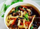 开胃消暑的酸辣蘑菇汤的做法
