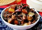 东北经典炖菜 干豆角红烧肉的做法