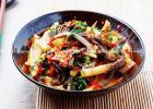 草根美味 酸笋炒牛百叶的做法