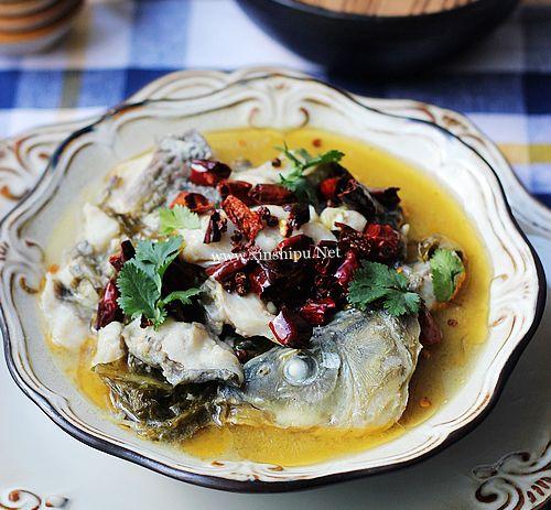 第1步酸菜鱼的做法图片