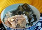 独门秘方高营养暖身汤 黄豆海带排骨汤