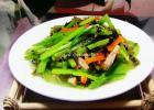 清肠健胃小炒 芹菜炒肉丝的做法
