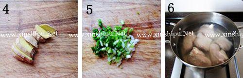 第3步海带花生猪蹄汤的做法图片