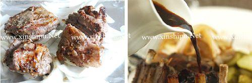 第5步红酒蒜香羊排的做法图片