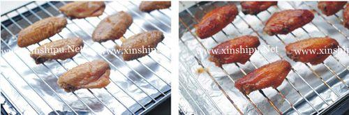 第4步酱烤鸡翅的做法图片