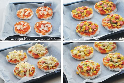 第3步米饭披萨的做法图片