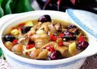 益气养元暖身汤 大枣桂圆炖鸡汤