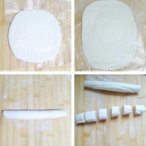 第2步精制家庭版飞饼蛋挞的做法图片