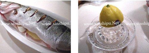 第2步柠香鲈鱼的做法图片