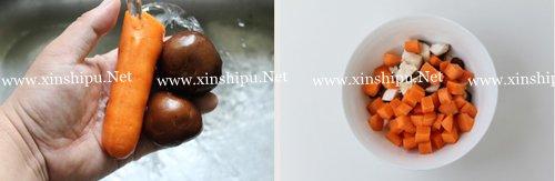 第3步香甜玉米羹的做法图片