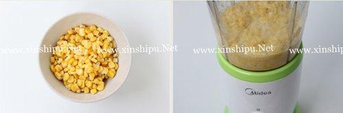 第4步香甜玉米羹的做法图片