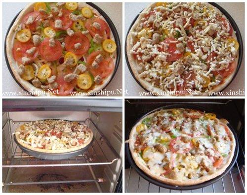 第6步营养美味早餐披萨的做法图片