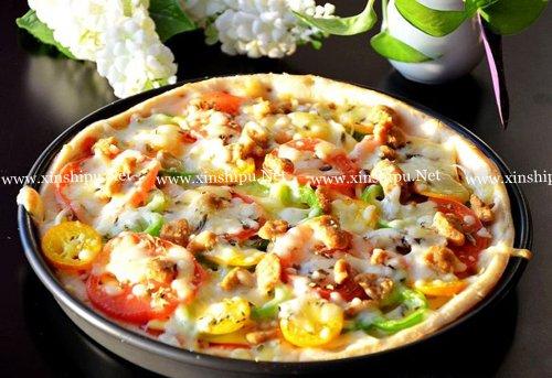 第7步营养美味早餐披萨的做法图片